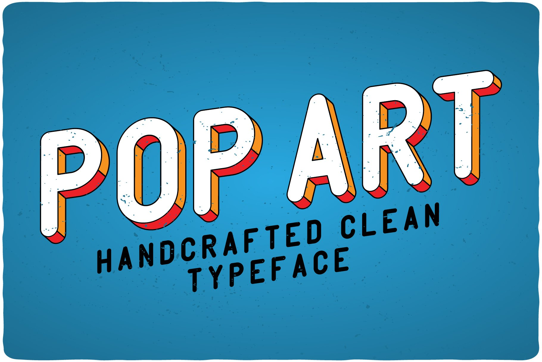 Bright, stylish and trendy pop art. This style is bordered by grunge and vintage styles.