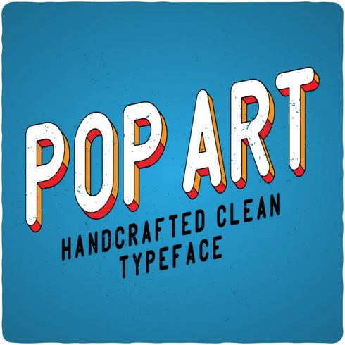 PopArt Font main cover.