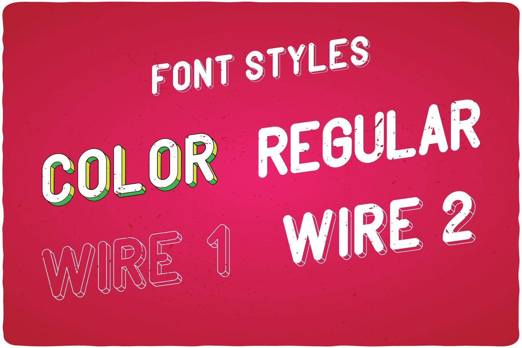 PopArt font styles.