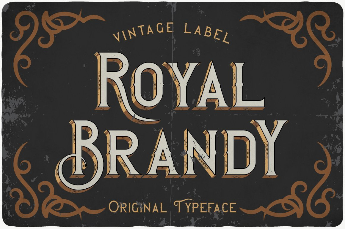 This font is like a bottle of well-aged Scotch whiskey.