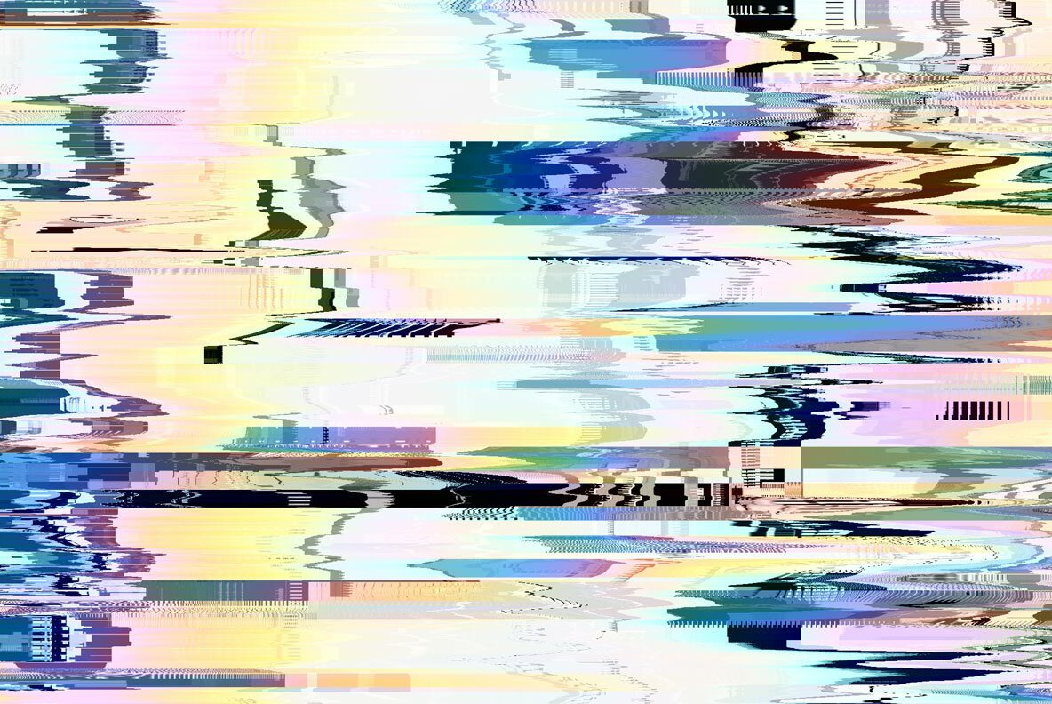 Glitch Textures Bundle cover image.