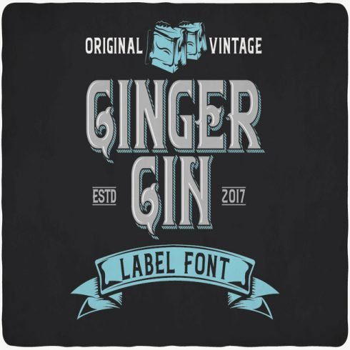 GingerGin main cover.