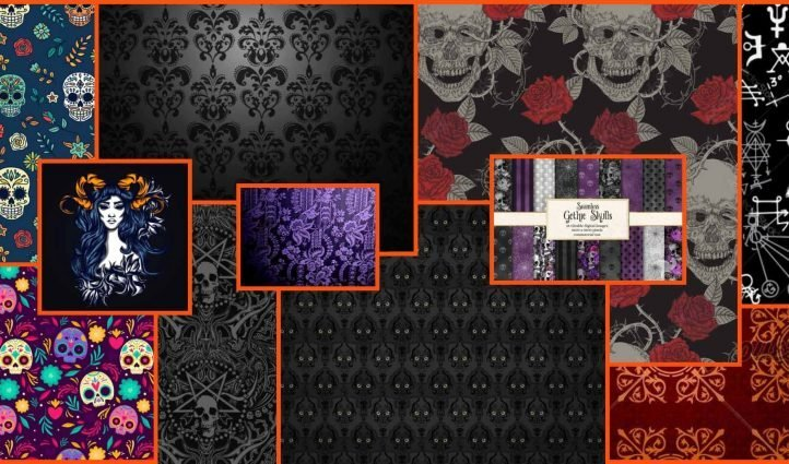 Goth Pattern Example.