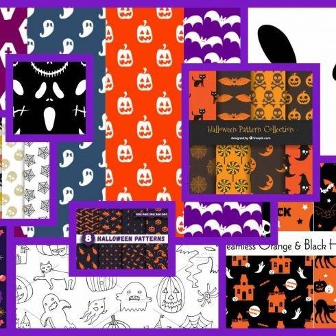 Halloween Patterns Example.