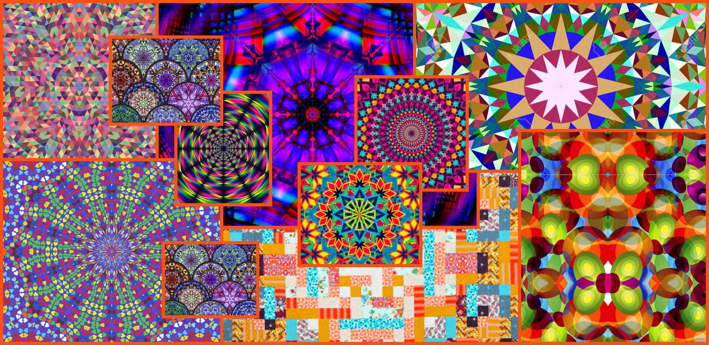 Kaleidoscope Patterns Example.