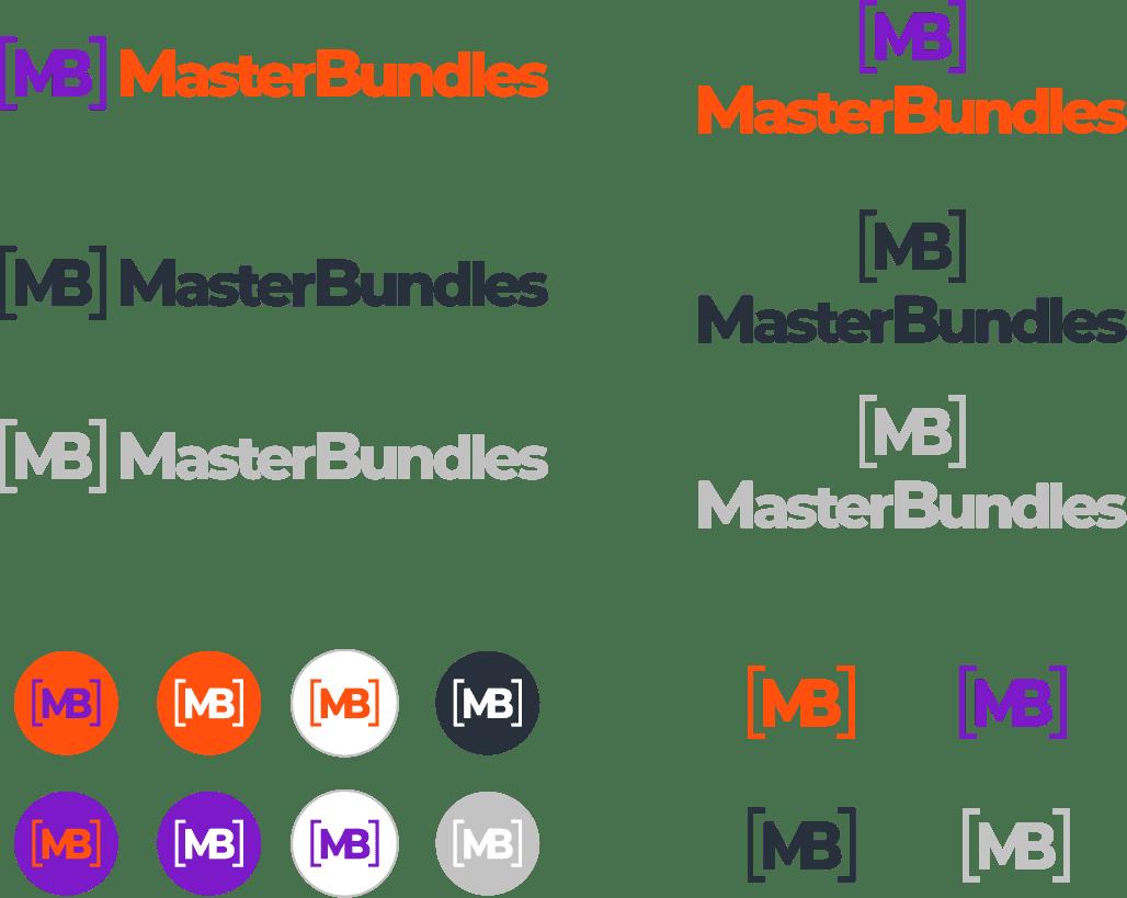 MasterBundles Logo Variations.