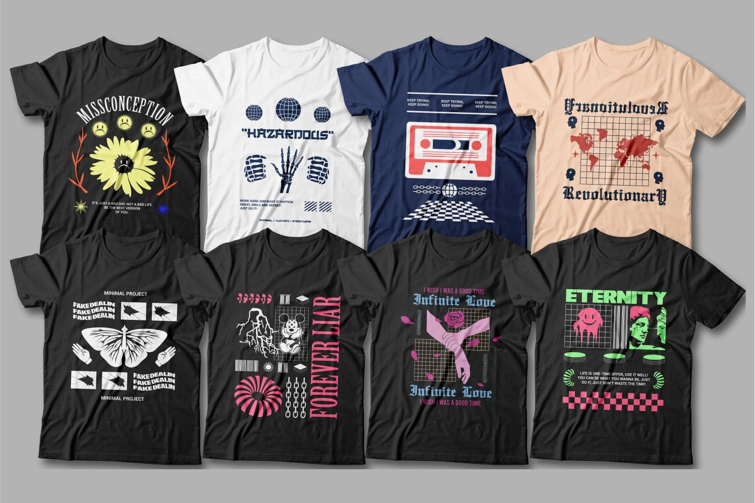 These t-shirts are perfect for creative people.