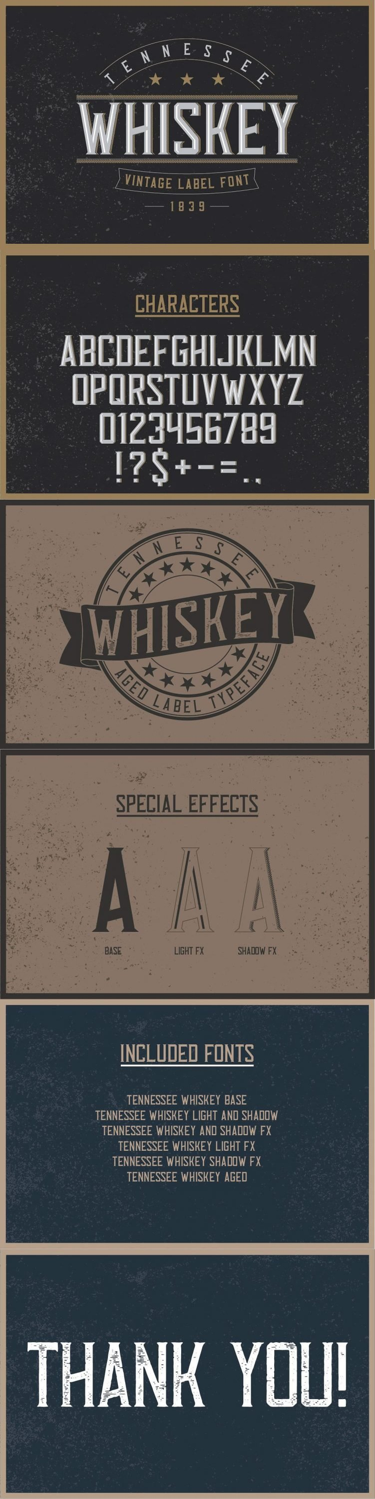 Tennessee Whiskey Font for pinterest.