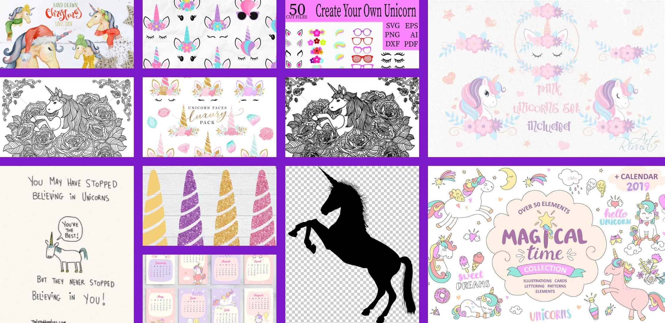 Unicorn Clipart Example.