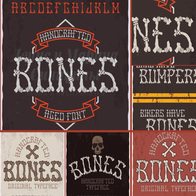 Bones Typeface cover image.