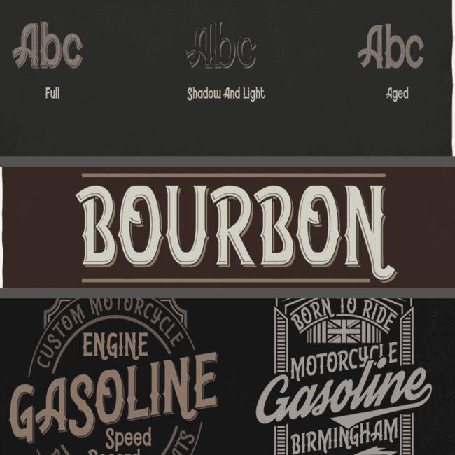 Bourbon Typeface cover image.