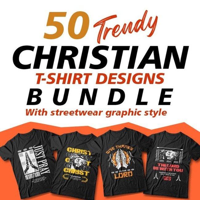 Christian T-shirt Designs main cover.