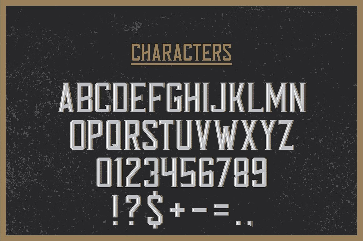 Available characters of Tennessee Whiskey Label Font .