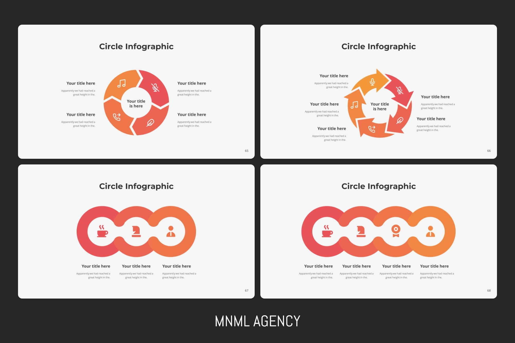 Infographics will help you to convey information in the simplest way.