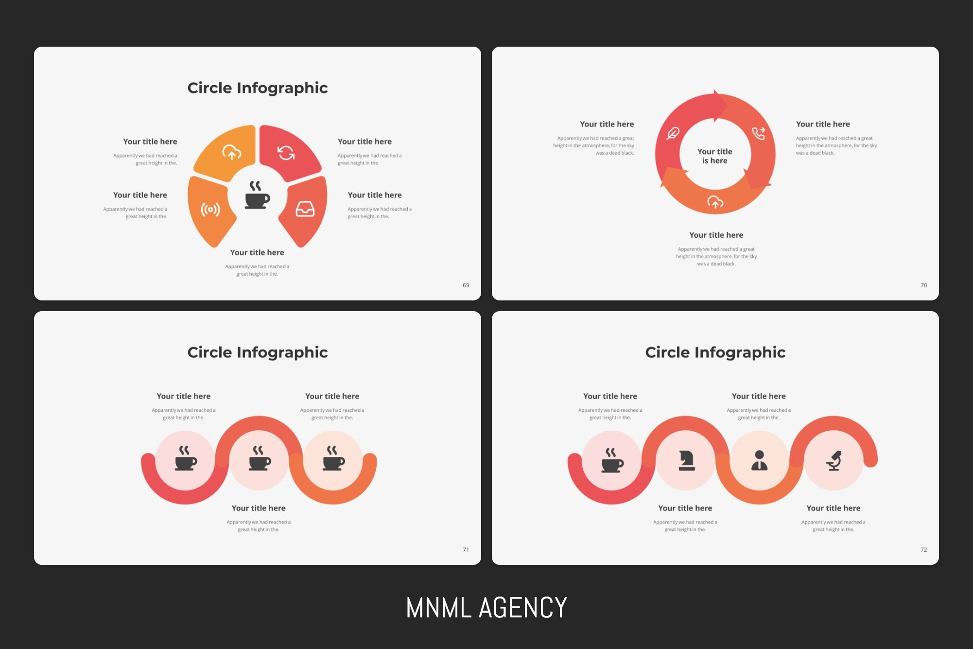Circle infographic.