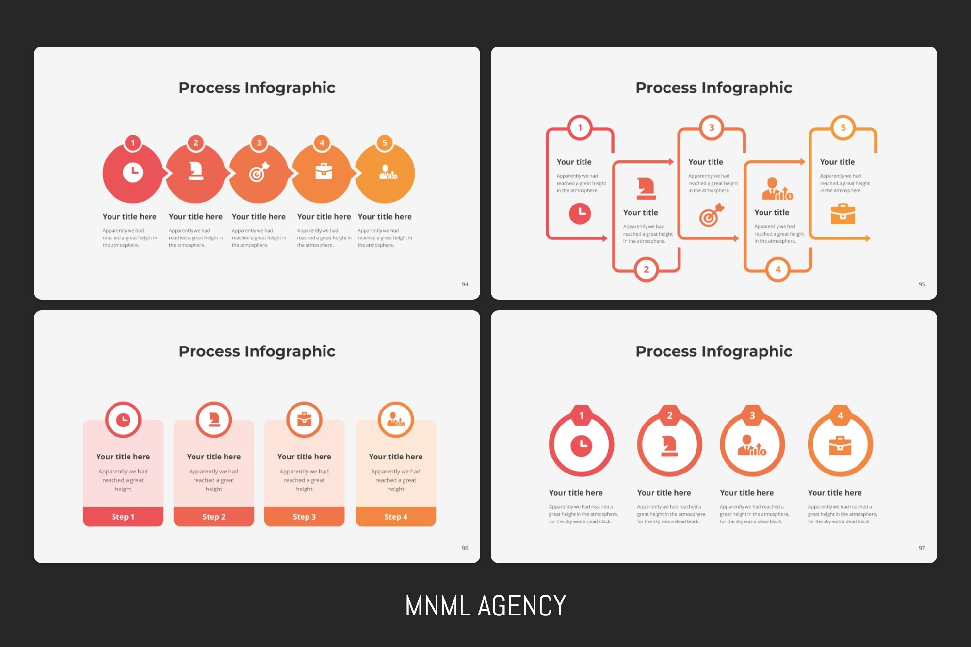 Colorful infographic which you can customize in your way.