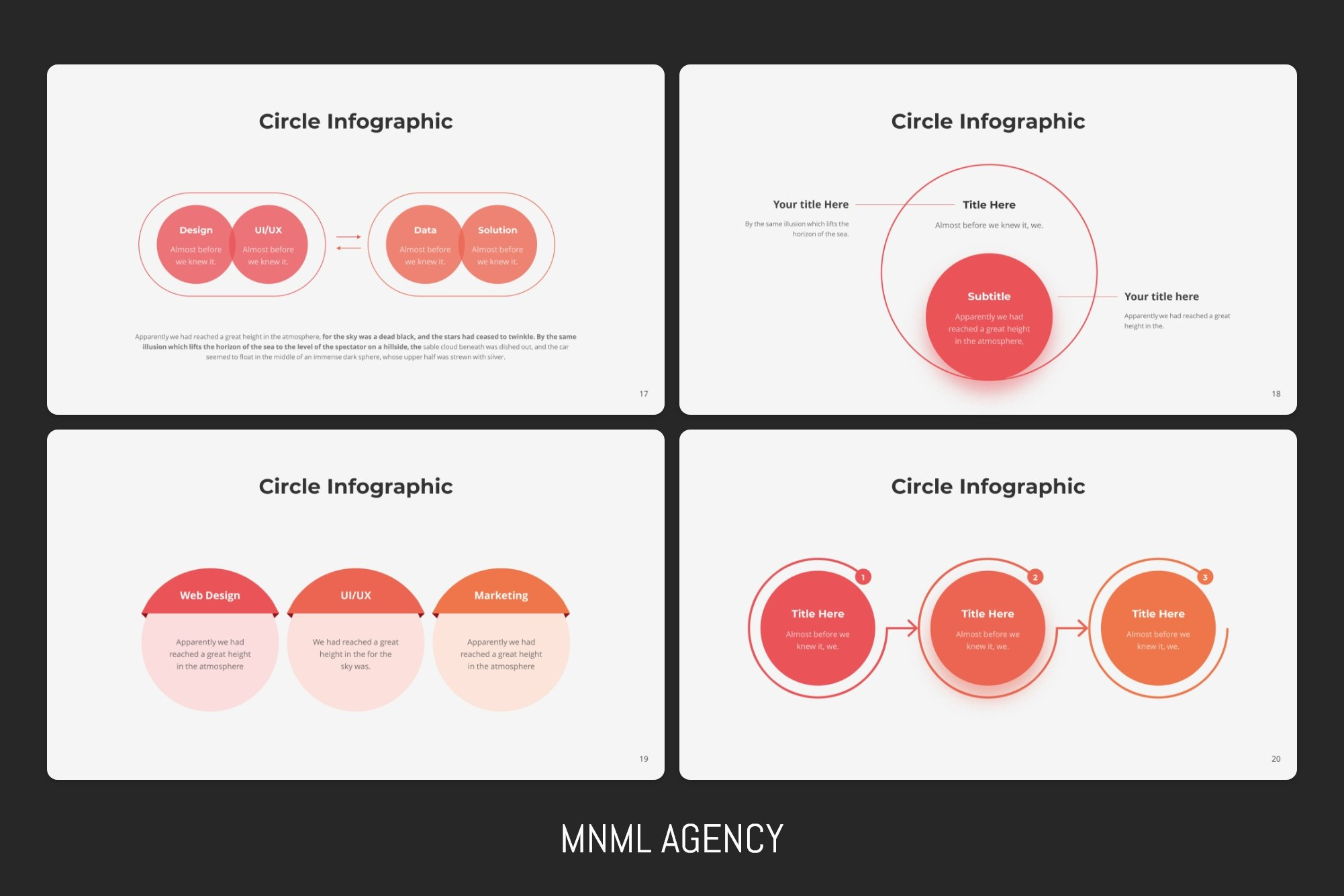 This infographic make presentation more contemporary and simple for understanding.