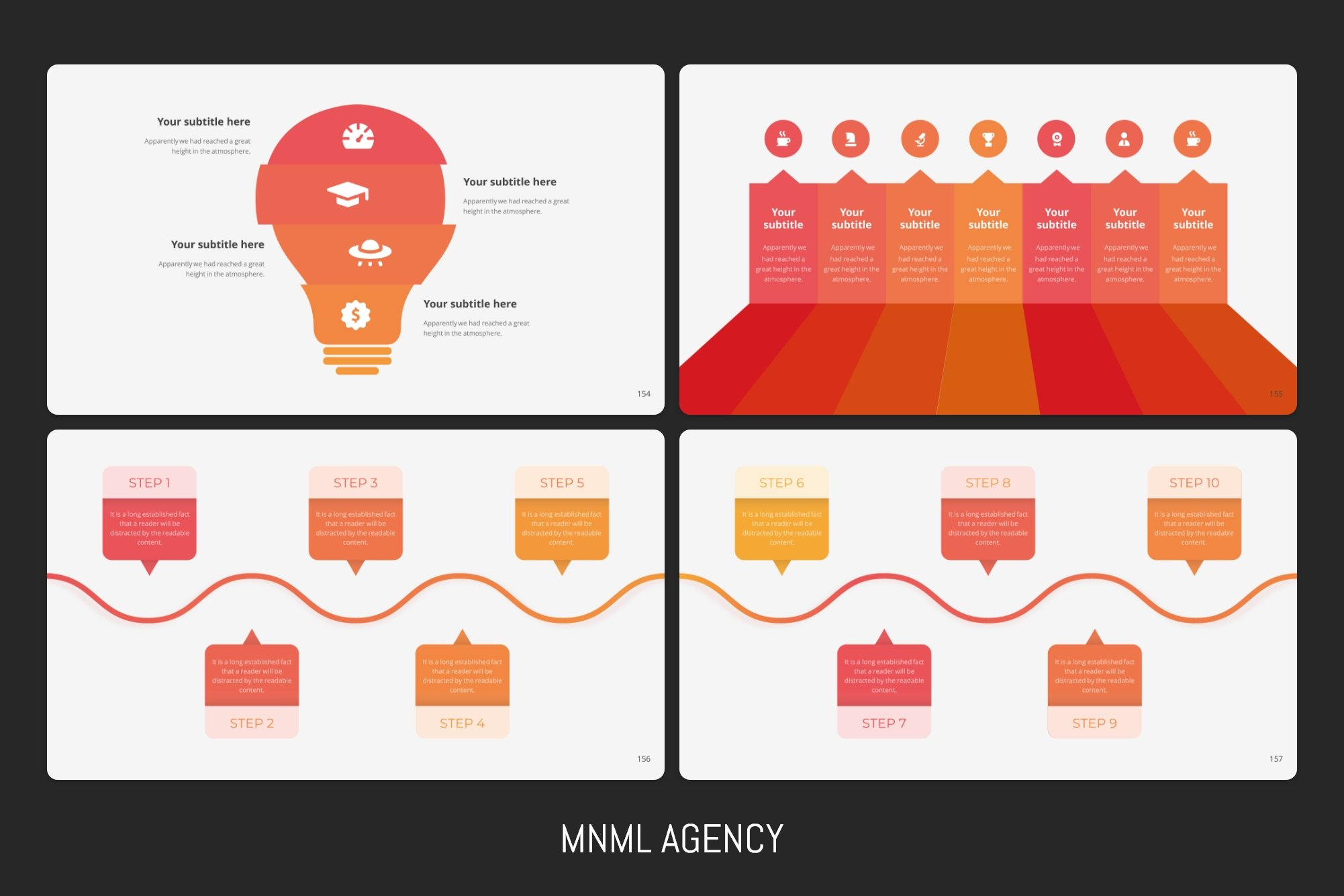 There are all infographics elements.