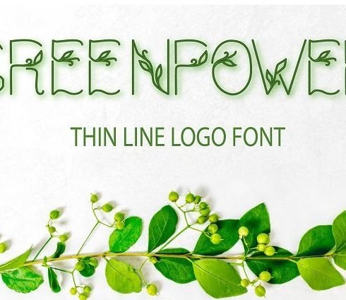 greenpower thin line font - main cover.