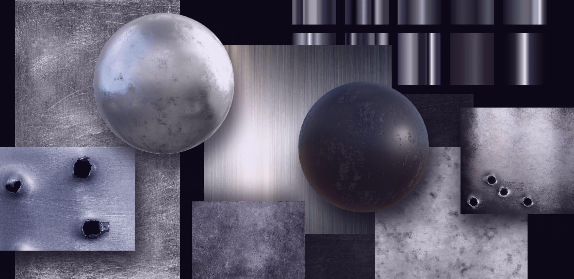 Best Gun Metal Texture Images Example.