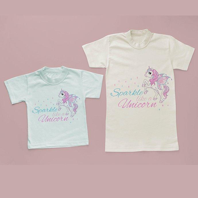 Unicorn Clipart, Unicorn SVG and Sublimation Design.