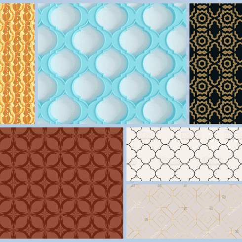 Trellis Pattern Example.