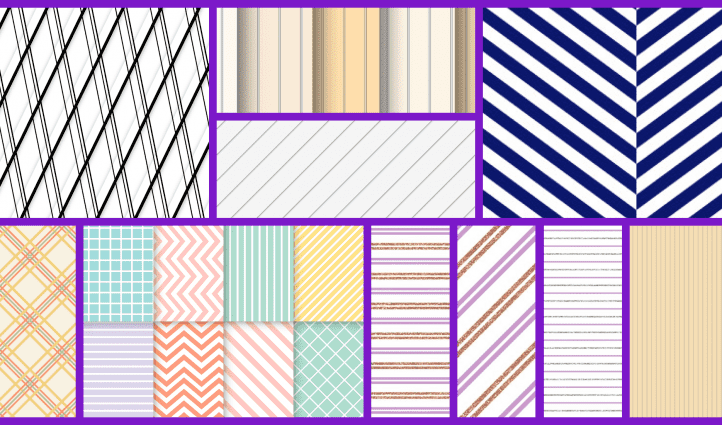 Pinstripe Patterns Example.