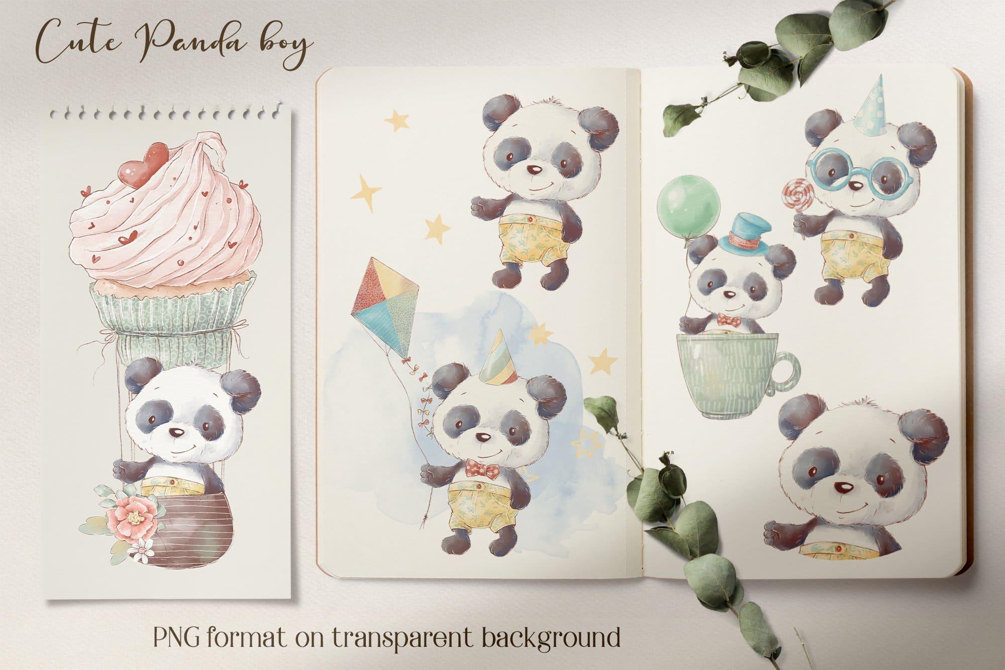 Lovely panda boy.