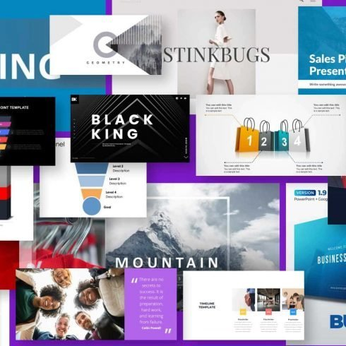 sales powerpoint templates Example.