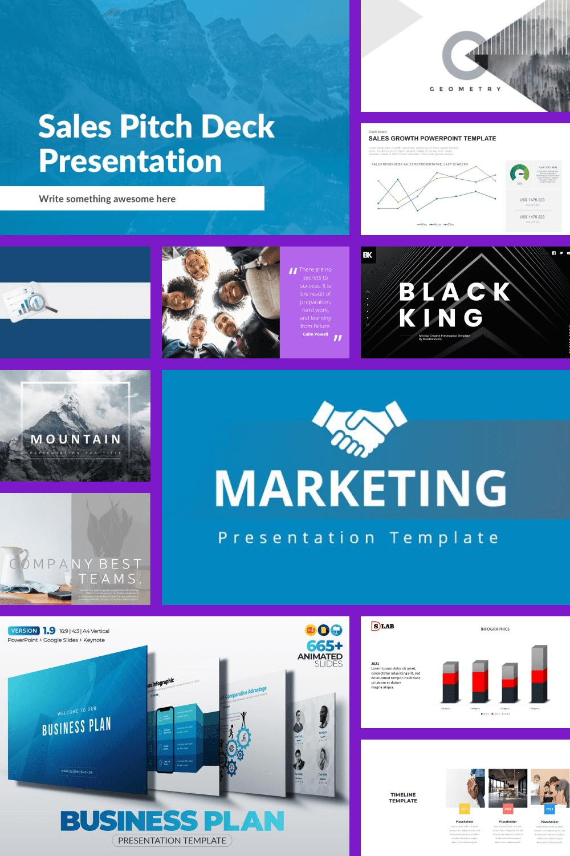 Sales PowerPoint Templates Pinterest.