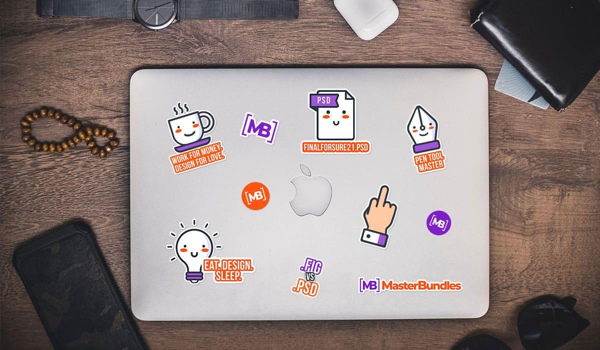MasterBundles Sticker Pack.
