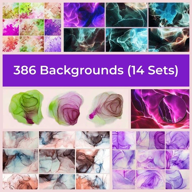 Backgrounds 14 sets main cover.