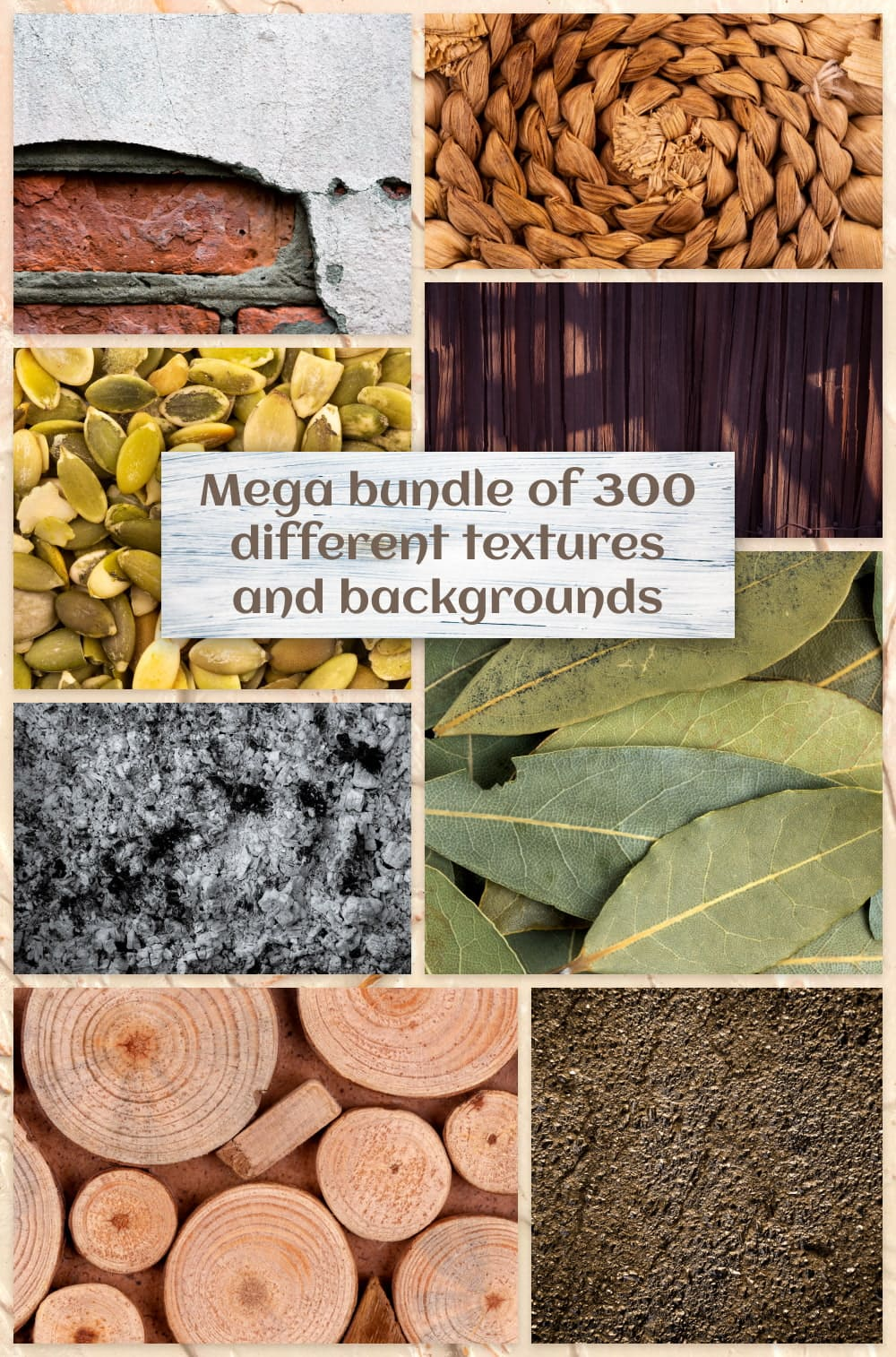 Mega Bundle of 300 Different Textures and Backgrounds Pinterest.