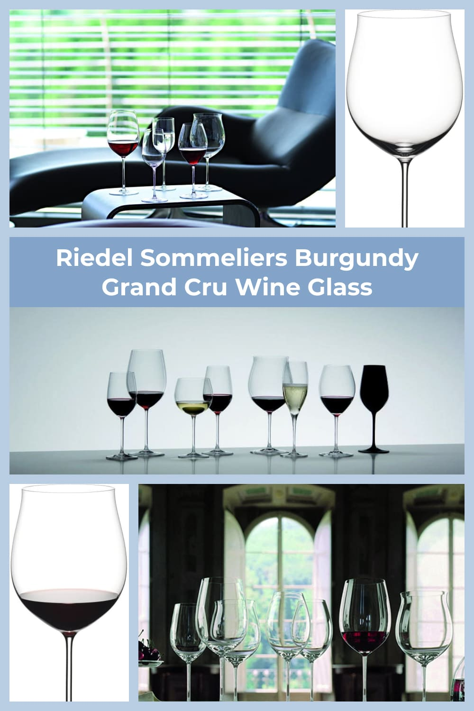 Hand-made, fine crystal wine glass.