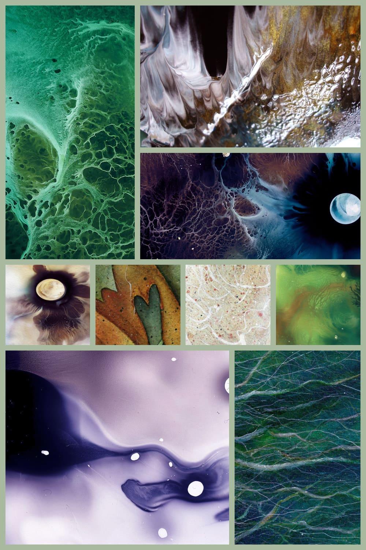 Abstract texture like a fluid art.
