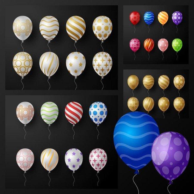 02 Set of 64 balloons 1100x1100 2