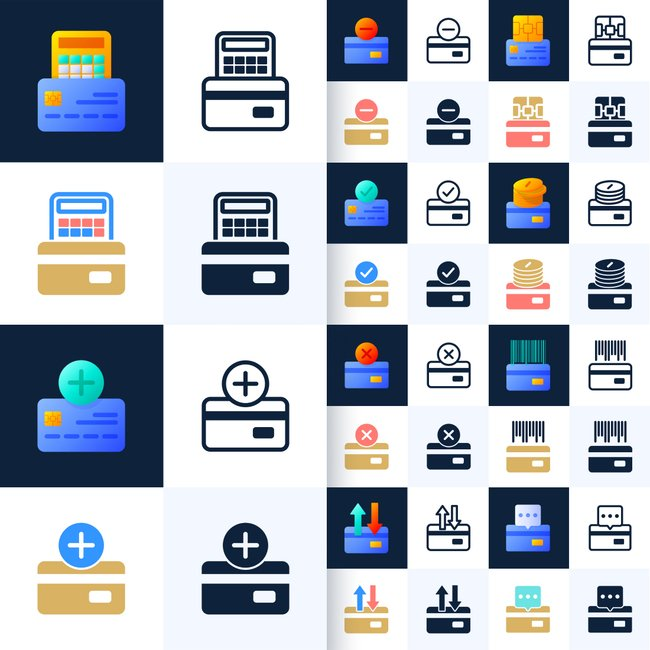 02 Set of 64 credit card icons 1100x1100 2