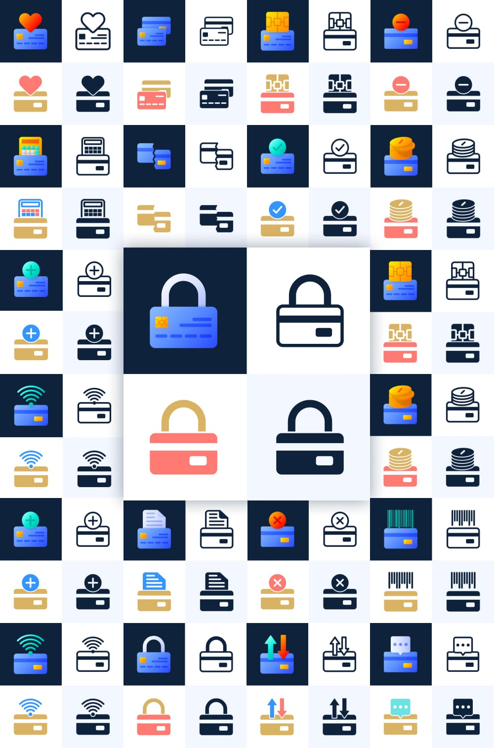 Flexible icons and easy customization.