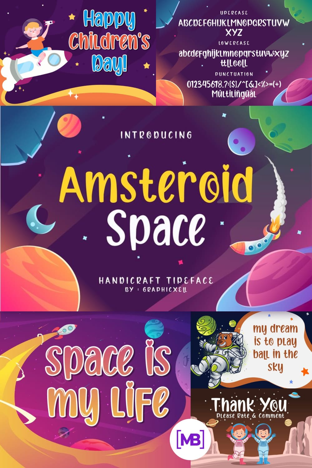 Cheerful and perky font for various business purposes.