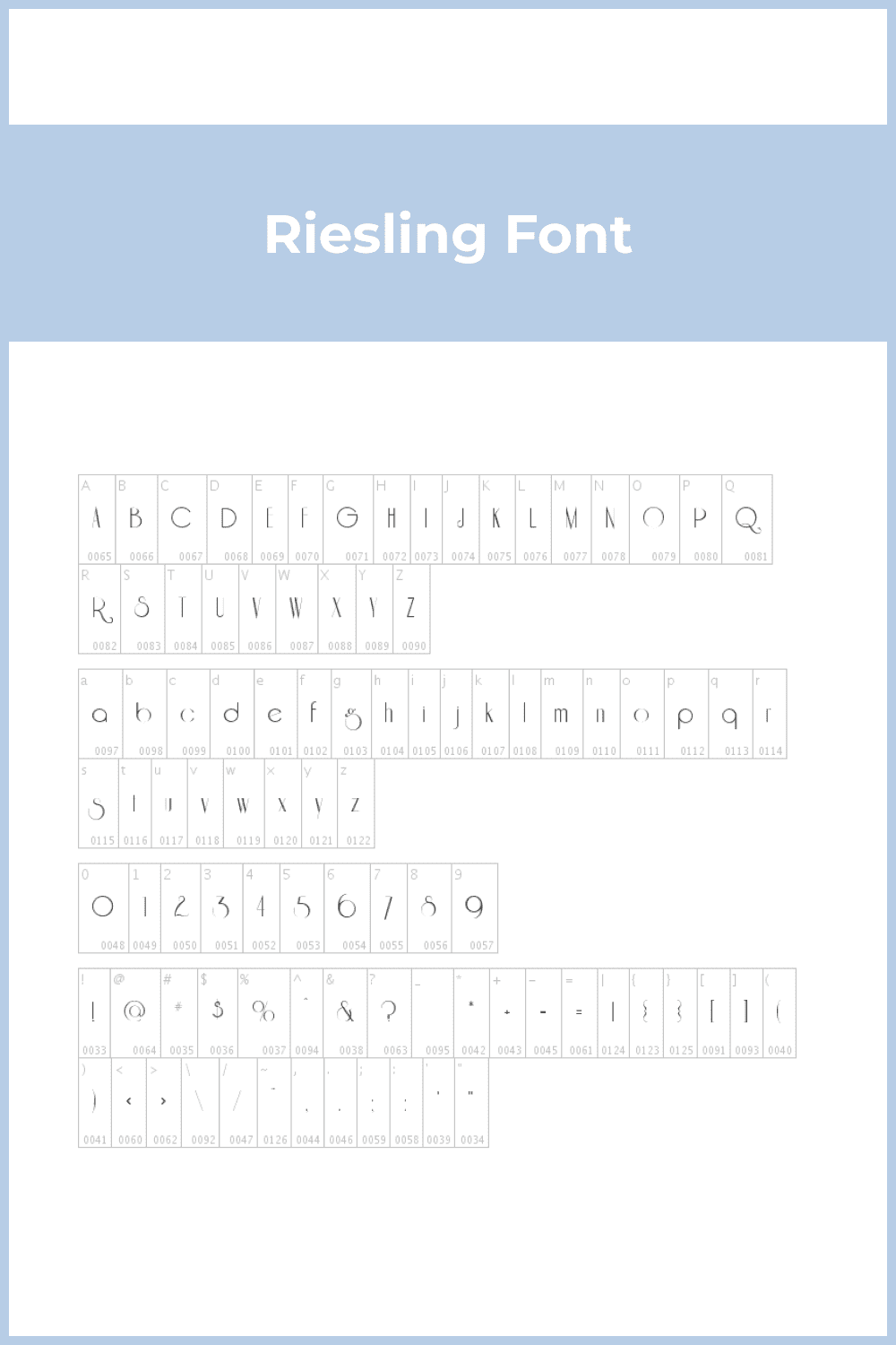 A simple font with inspirational letters.