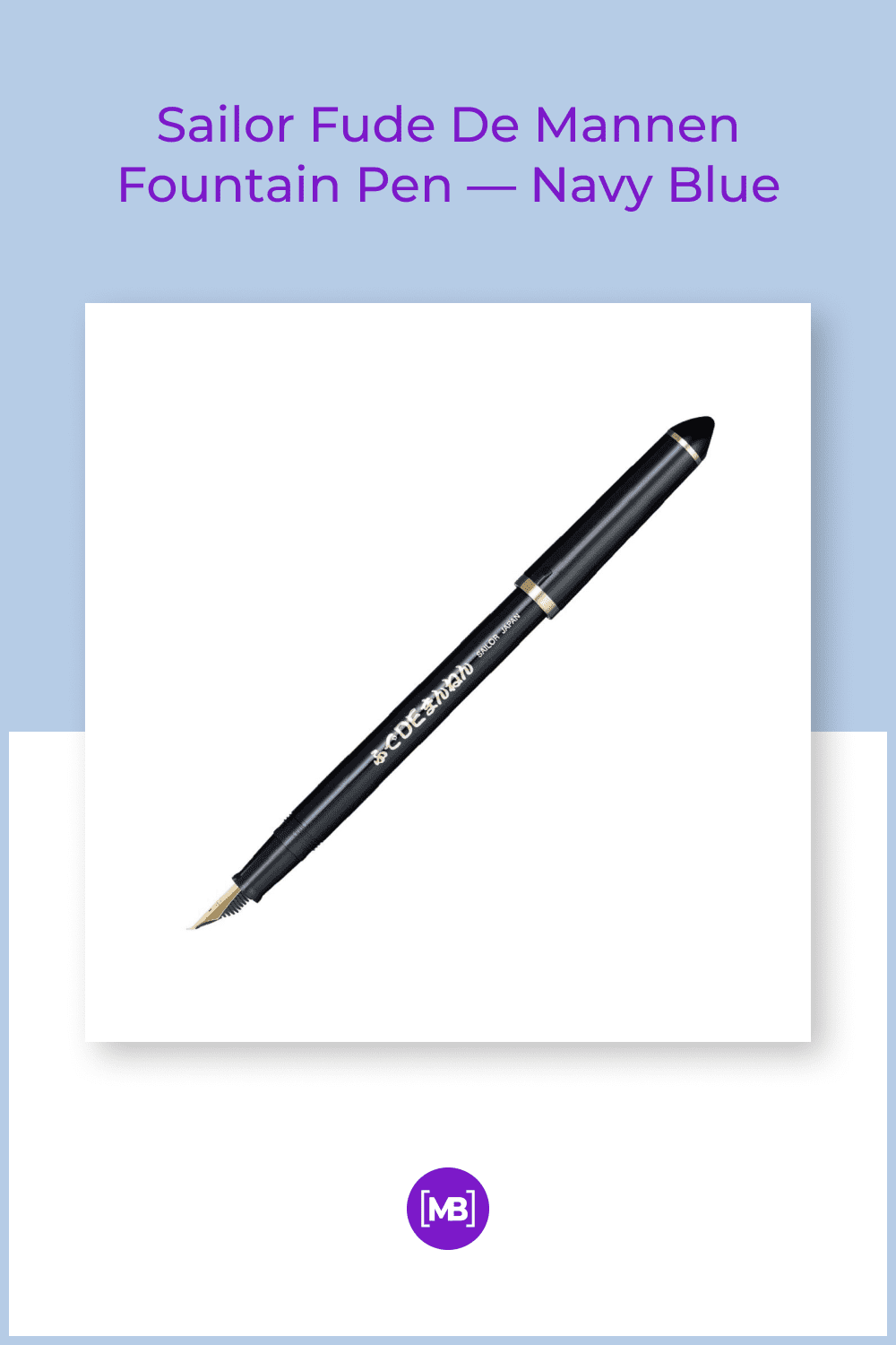 Is the fountain pen easily write a calligraphy by a special pen tip.