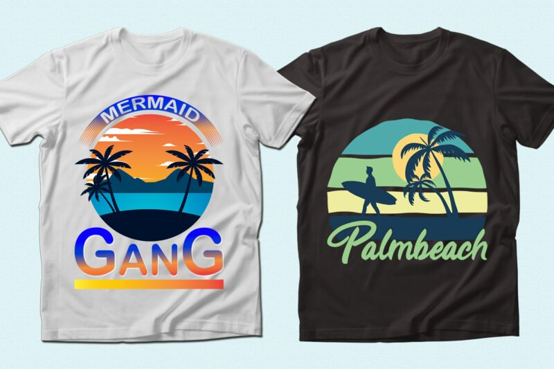 Tropic t-shirts.
