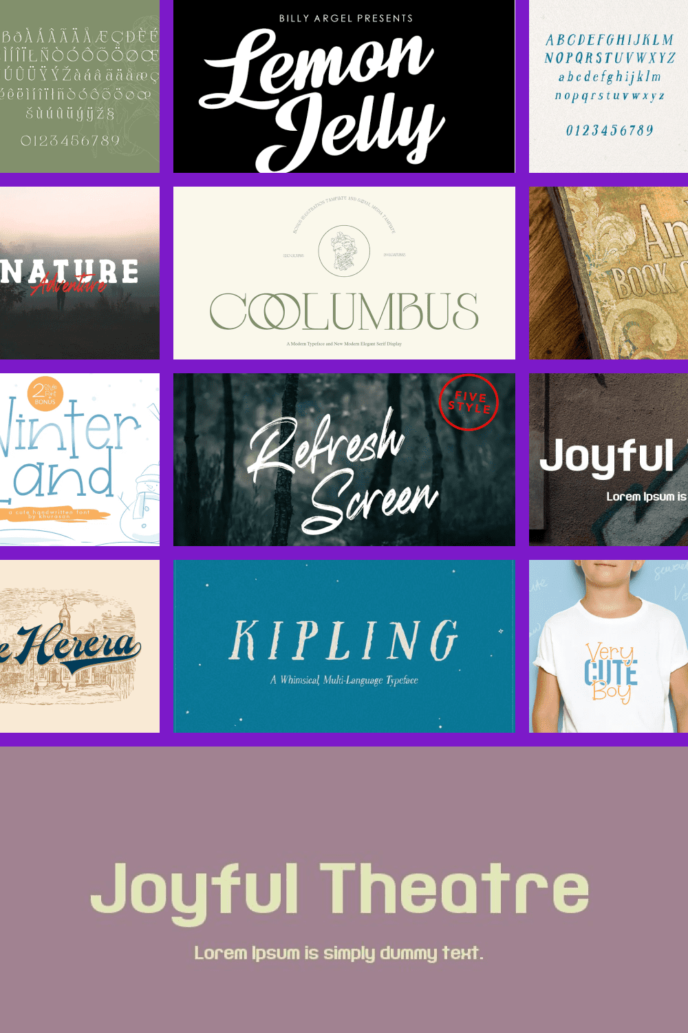 Fonts for Book Covers Pinterest.
