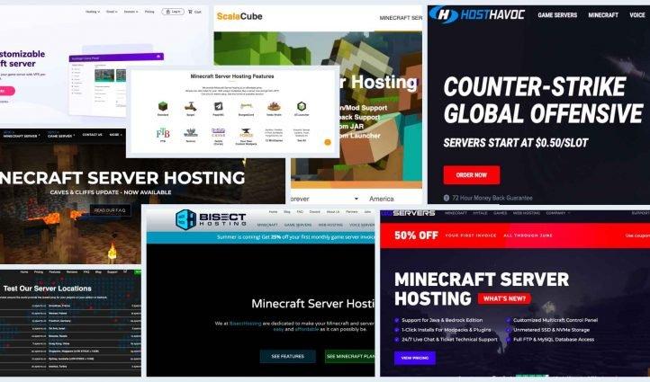 10 Best Minecraft Server Hosting Example.