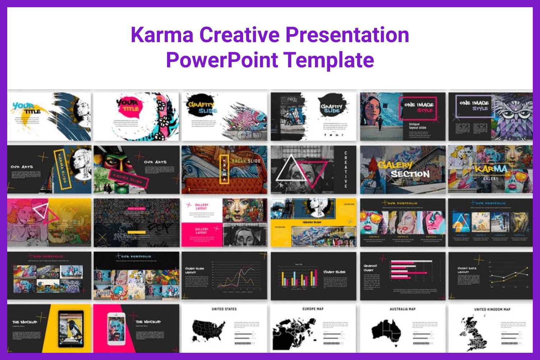Creative, unique, full color and flexible presentation template.