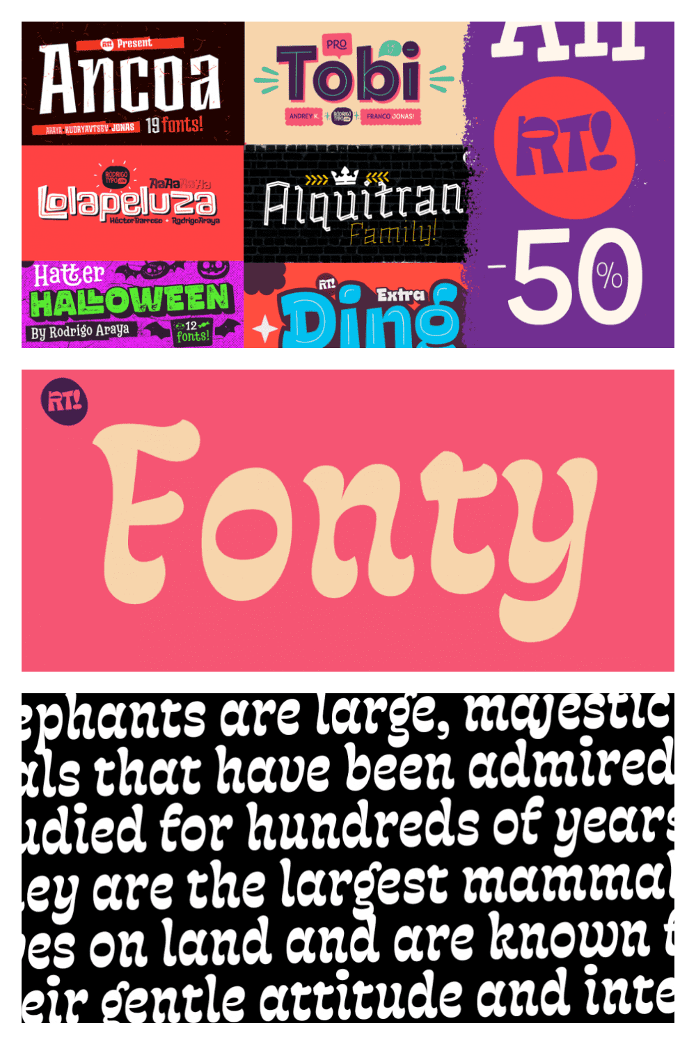 This is a very bright 90s style font.