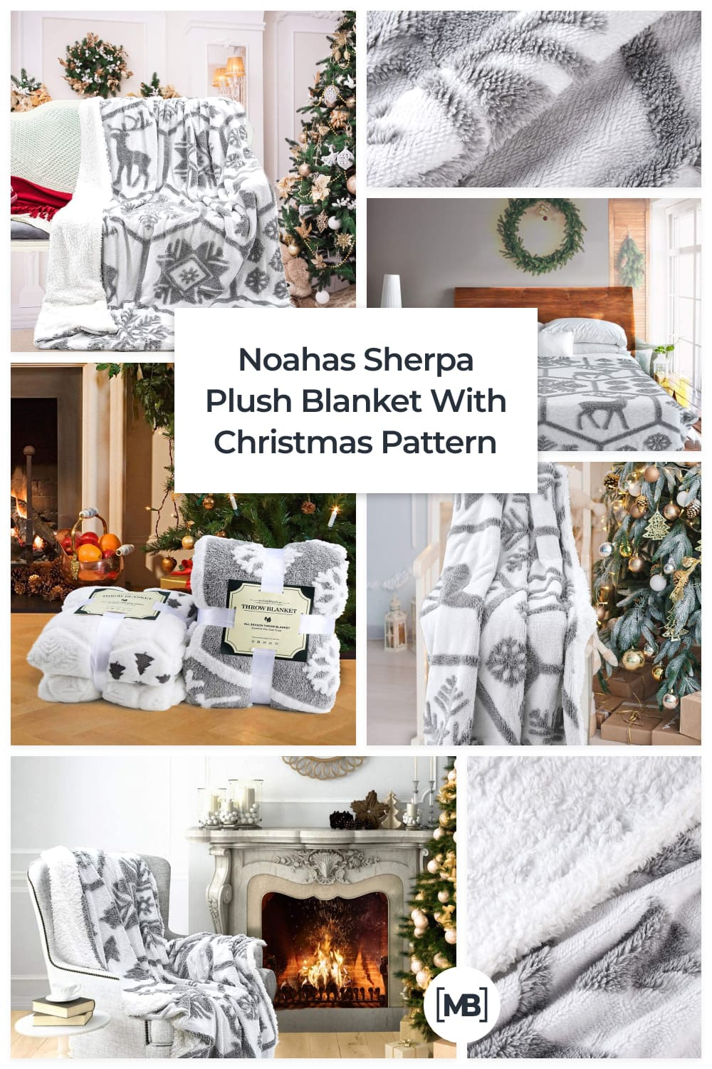 Get cozy and warm with this super soft sherpa faux fur blanket, perfect for snuggling up on the couch especially on chilly nights.