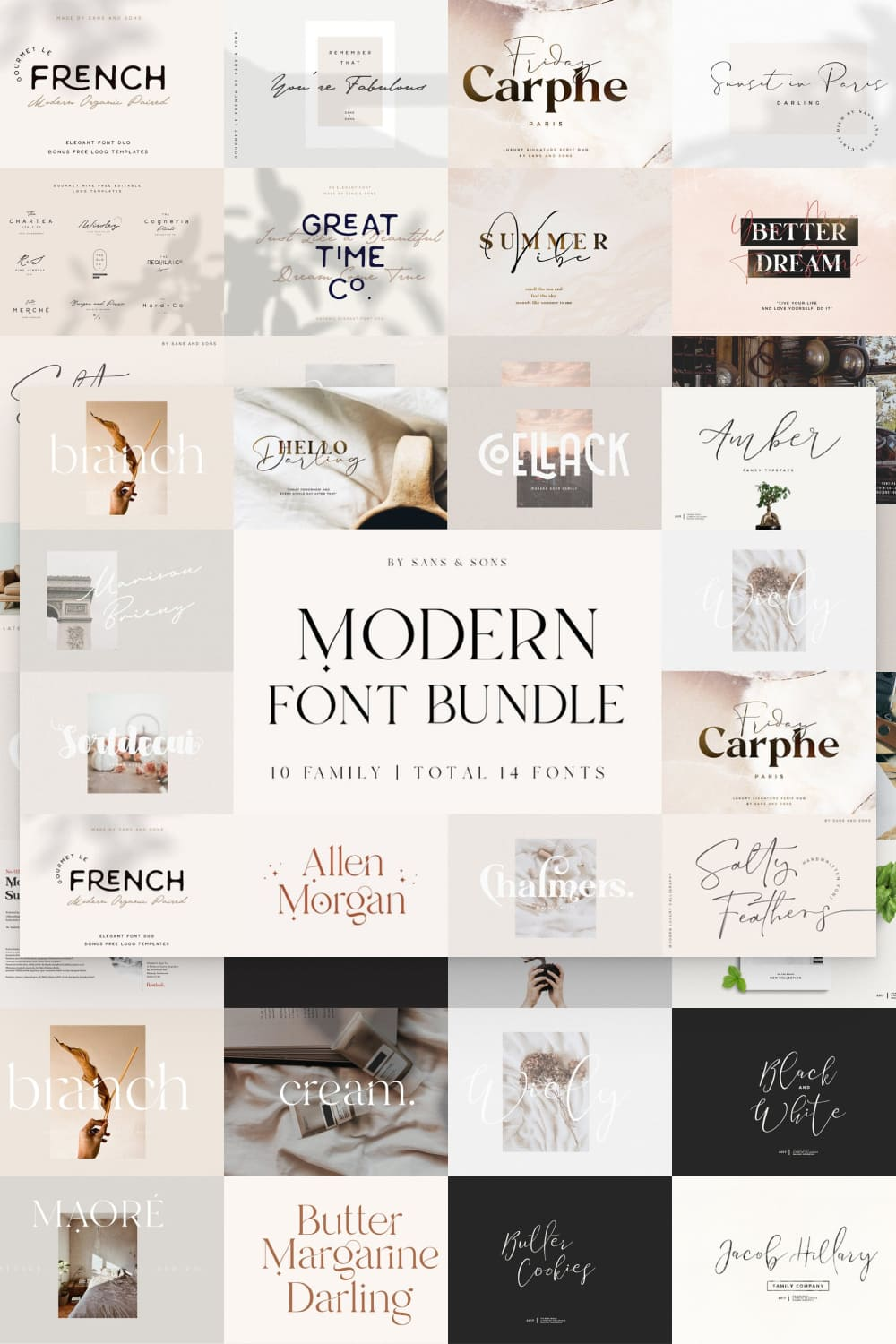 This font contains the maximum concentration of tenderness and style.