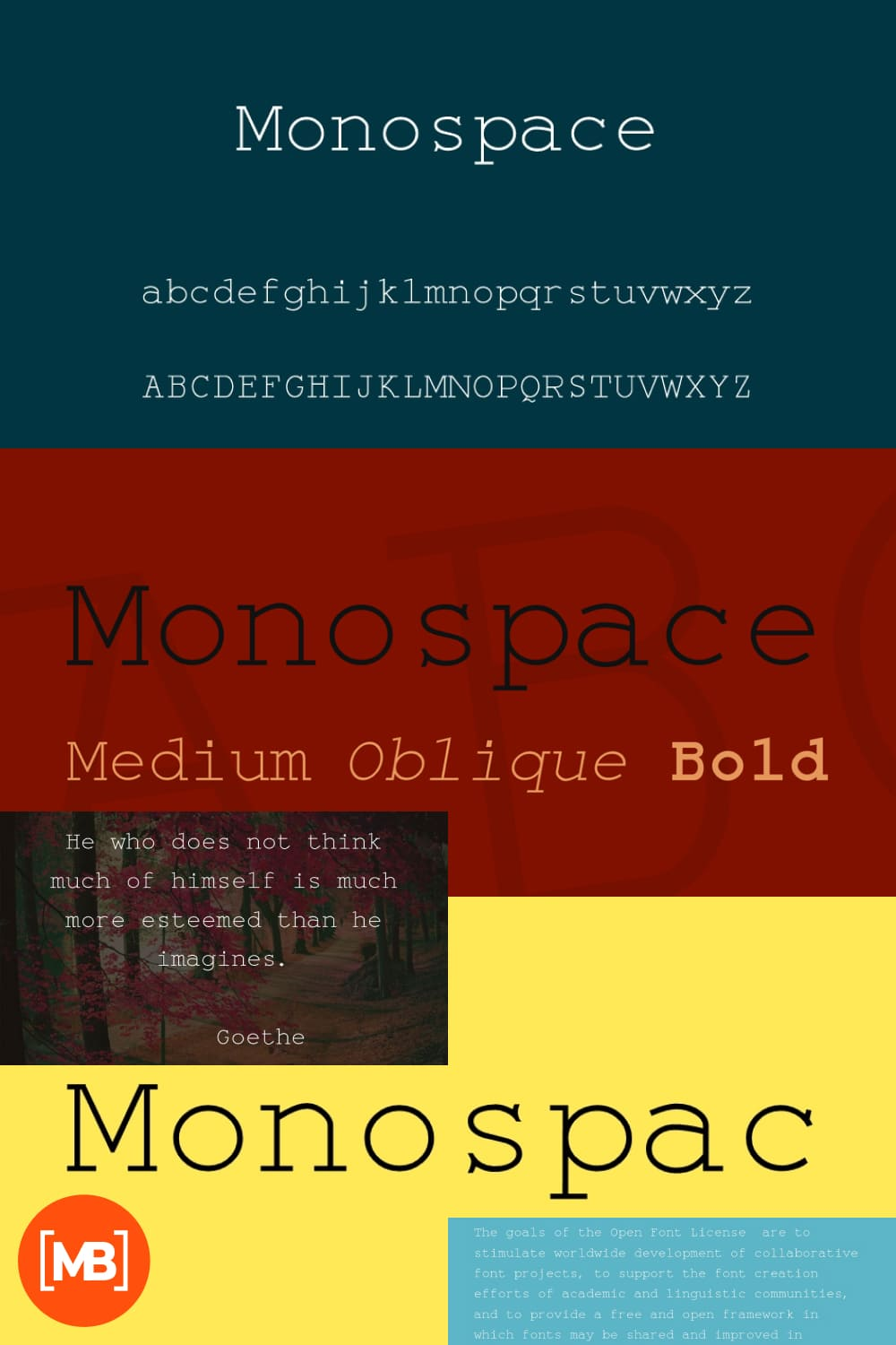 A thin font that comes in several styles.
