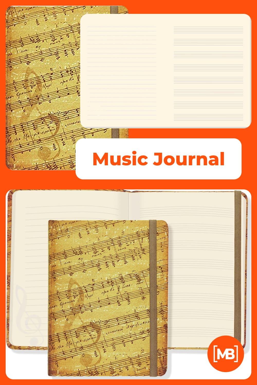 Music journal.